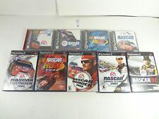 NASCAR BUNDLE 9 PLAYSTATION 1 2 PS1 PS2 GAMES NASCAR 99 98 2001 2002 2003 HEAT