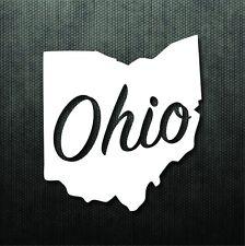 Ohio State Die Cut Bumper Sticker Vinyl Decal Car Truck Macbook Pro Air Sticker