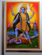 Kali Kaali Maa Mata, Shiva - POSTER Big Size: 20 x 28 inches