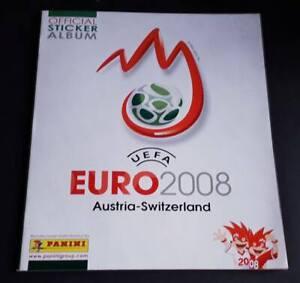 EURO 2008 panini empty album