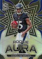 2019 Panini Spectra Rookie Aura #11 Marquise Brown /99