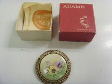 Established circa 1657 Rare iron stone pendnt brooch William Adams England 50155