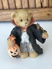 "Derek ""Count On A Frightful Halloween"" 2002 #706752 Enesco Cherished Teddies"