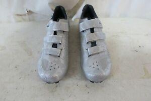 Louis Garneau Chrome II Shoes Men's 46 US 11.5 Camo Silver Retail $99.99