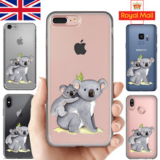 CUTE ANIMALS - Case for iPhone 11 Pro 7 8 + X S10 Huawei Silicone Phone Cover