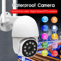Outdoor WiFi IP Camera Two Way Audio Cloud Storage APP Control Night Vision