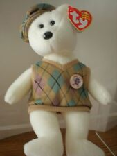 Ty Beanie Baby Babies Tour Teddy Golf Bear Collector's Quality New MWMT