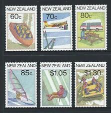 1987 NEW ZEALAND Tourism Set MNH (SG 1411-1416)