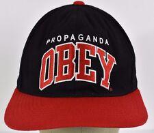 Black Propaganda Obey embroidered baseball hat cap adjustable snapback