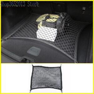 For Volvo XC60 10-21 Rear Trunk Elastic String Net Mesh Storage Bag Pocket Cage