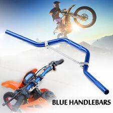 Blue Pit Dirt Bike Braced Handlebars Handle Bars 50cc 110cc 125cc 140cc Pitbike