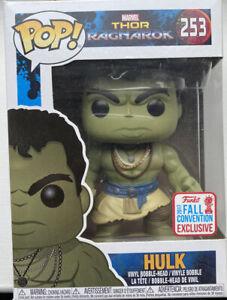 Funko Pop Vinyl – Marvel- Thor Ragnarok- Hulk – 253- Unopened- 2017 Exclusive