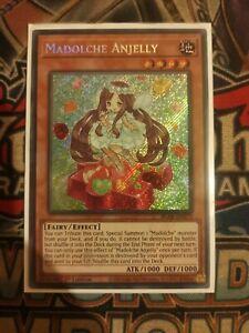 Madolche Anjelly BLAR-EN073 Secret Rare Mint Condition 1st Edition