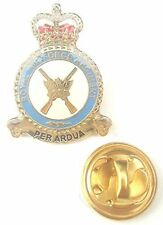 RAF Regiment Crest Enamel Lapel Pin Badge