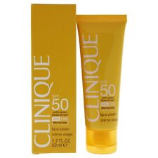 Face Cream SPF 50 with SolarSmart by Clinique for Unisex - 1.7 oz Sunscreen