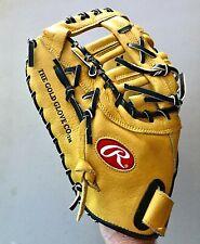 "Gently Used RAWLINGS RFMDCTF 12.75"" Baseball Softball First Basemans Glove LHT"