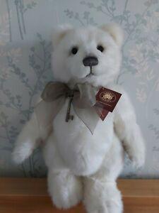"Charlie Bears Ursa Minor 17"" standing polar bear tiny mark on paw pad"