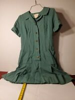Vintage Girl Scout Dress Size 12