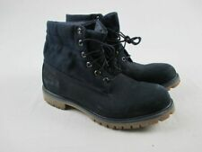 Timberland Roll Top Premium Leather - Navy blue Boots (Men's 12) - Used