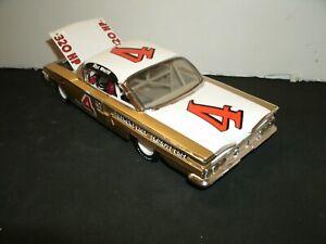 #4 REX WHITE 1960 PIEDMONT NASCAR CHAMPION CHEVROLET IMPALA 1/24 RARE CUSTOM