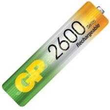 4 x GP AA 2600 Series Rechargeable Batteries mAh Ni-Mh Cordless Phone 2600mAh