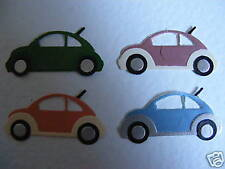 Beetle Car Cars VW type Motor Vehicle Driving History die cuts