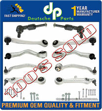AUDI ALLROAD 2.7 T 2.5 4.2 CONTROL ARM ARMS Ball Joint Tie Rod Suspension Kit 11