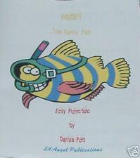 **Freddy the Funny Fish-- Easy Beginner Piano Solo**