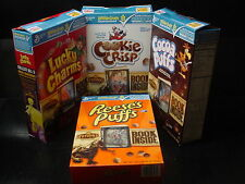 4 SPIDERWICK CHRONICLE cereal movie promo book GM box  special edition trolls