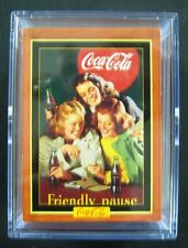 Coca Cola Series 4 - 100 Collection Card Set from 1995 - Mint in New Acrylic Box