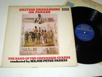 AUTOGRAPH Peter Parkes BRITISH GRENADIERS Decca NM/NM-