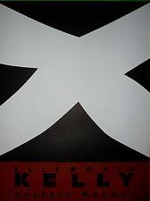 Kelly Ellsworth affiche en lithographie art abstrait abstraction minimalisme