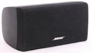 Bose Lifestyle Black Center Surround Sound Small Audio Cube Speakers