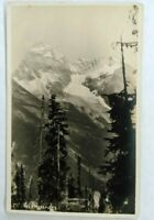 RPPC Divided back Mt Sir Donald, Glacier Natl Park, Canada.   Unposted