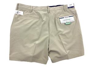 Izod Golf Men's Swing Flex Straight Fit Golf Shorts - Khaki  Size 40  NWT