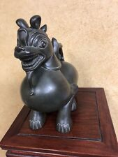 1990's Bronze Mythical Animal Sculpture Statue Signed C. Smith 11�Lx12�Wx7�D