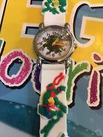 Kids Boys Girls Ninja Turtles Wristwatch Silicone Strap Wrist Watch Slim 3mm CH