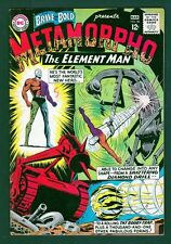 DC Comics Brave and the Bold #58 Metamorpho FN+ 6.5 Mar 1965 LI-01