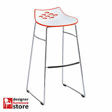 Replica Dondoli & Pocci Jam Bar Stool - White & Red
