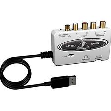 Behringer UFO202 USB Digital Audio Interface for connecting turntables to PC