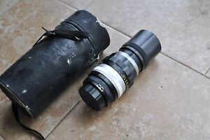 Nikon Nikkor 200mm F4 lens for  Nikon F