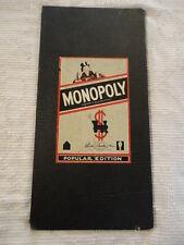 Vintage Parker Brothers MONOPOLY Board Copyrights 1935,1946,1954 USA
