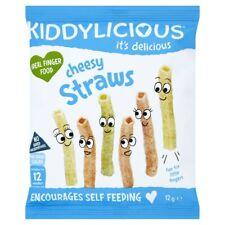 Kiddylicious Cheesy Straws 12 gram