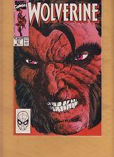 Wolverine #21 1990 -stan lee presents battleground- harras/defalco  nm-
