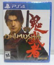 ONIMUSHA WARLORDS PLAYSTATION 4 PS4 NEW SEALED NTSC USA REGION FREE
