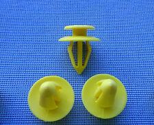 (2072) 10x Türverkleidung Clips Befestigung Klips Halter gelb für Audi VW Seat