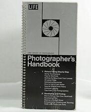 LIFE LIBRARY OF PHOTOGRAPHY PHOTOGRAPHERS HANDBOOK 1970