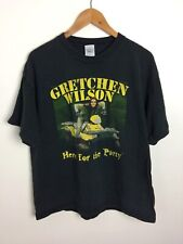 GRETCHEN WILSON Here For The Party Concert T Shirt Size XL Redneck Woman