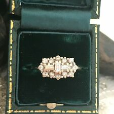 Diamond Cluster Ring 18 Carat Yellow Gold