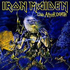 Iron Maiden CD, Live After Death, Orig 1985 Capitol, CDP 7 46186 2